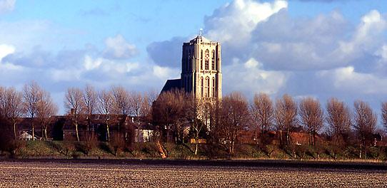 NL | Brielle (Oude St. Catharijne-Kerk-Licht)