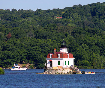 Esopus Meadows Lighthouse | Rechte: M. Werning / leuchttuerme.net